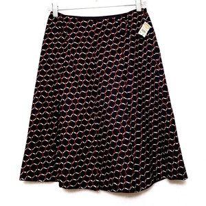 Talbots Skirts - 🐎NWT Talbots Equestrian Print Silk Skirt